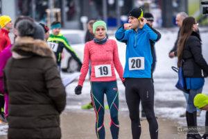 Zimný beh Považskou Bystricou 30.12.2017